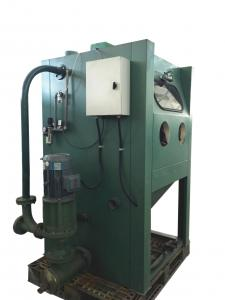 China Electric Wet Sandblasting Equipment , Wet Blasting Cabinet For Surface Cleaning on sale
