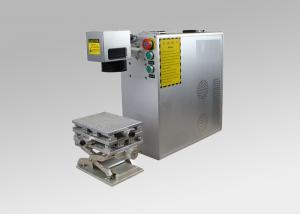 China Compact and Portable Fiber Laser Marking Machine with EU Safety Standard on sale