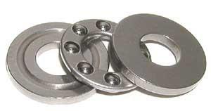 China OEM 17 - 80 mm SKF Single Row Carbon Steel Thrust Ball Bearings 511 series   on sale