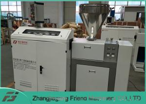 China Long Lifespan Plastic Extruder Machine / Single Screw Extruder 50kg/H Capacity on sale