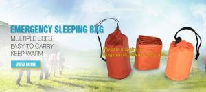China First Aid Camping Body Warmer emergency sleeping bag,First-Aid Devices Type Emergency survival sleeping bag,Thermal Emer on sale