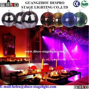 China 2 - 48 inch Party Disco Mirror Ball Light , Professional Stage Lighting on sale