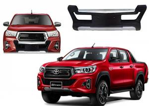 China LED Daytime Running Light Front Bumper Guard Toyota for New Hilux Revo 2018 Rocco on sale