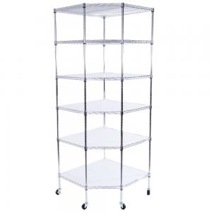 China NSF & ISO Approved Chrome 4-tiers 18X36 x72 Wire Shelving supplier