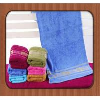 hot sale custom good quality jacquard pure bamboo fiber face towel wholesale baby towel