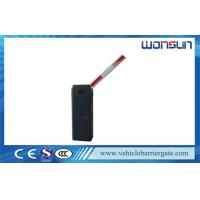 China Waterproof Rfid Automatic Car Park Barriers With Manual Release Boom Barrier on sale