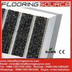Aluminum large doormat scrape dirt anti-slip for commercial building and home entrance areas