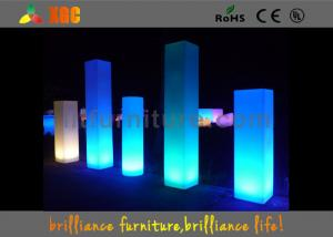 China Waterproof LED Pillar For Events Decorations , Glowing Flower Vase on sale