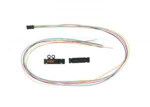 China Fan - Out Fiber Optic Buffer Tube 12 Core Colorful Indoor For 250um Bare Fiber on sale