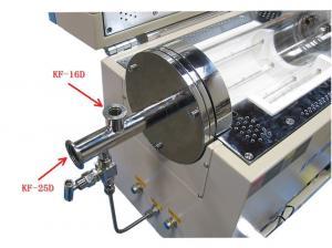 customizable KF-D25 High Vacuum flange with an extra KF-D16