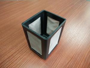 China La malla cuadrada del filtro del acero inoxidable con el moldeo a presión inserta la producción on sale