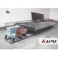 High Concentration Ratio Gold Shaker Table for Gold Processing Plant