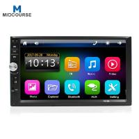 China 7 Inch 2 Din Car Stereo Touch Screen Auto Audio Bluetooth 1080P FM Radio on sale