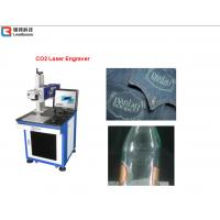 China Plastic Laser Engraving Machine For Plastic Boxes , Metal Carving Machine Water Cooling on sale