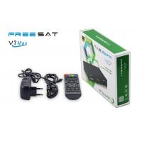 FREESAT V7max network sharing wifi 3G dongle support DVB set top box