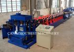 Galvanized Zinc Z Channel Purlin Roll Forming Machine 2 Years Warranty