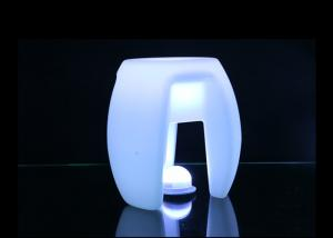 China Outdoor Colorful LED Illuminated Furniture Led Triangular Stool 80000h Life Time on sale