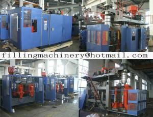 China High Speed Servo  Automatic Blow Molding Machine For Blowing Bottles supplier