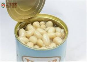 China Nutritious Green Organic Canned Vegetables / White Kidney Bean In Brine on sale
