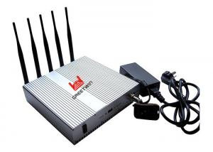 China Strong Range Cell Phone Signal Jammer Scrambler Device WIFI 2400mhz - 2500MHz on sale
