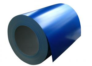 China Anti Rust Painted Aluminum Coil , Furniture Color Coated Aluminum Roll coil on sale
