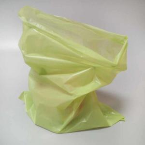 China Disposable Strong Leaf Trash Bags , Bio Compostable Waste Bags Spout Top on sale