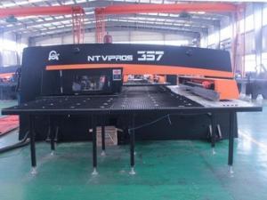 China O Type Operation Cnc Turret Press , Automatic Sheet Metal Hole Punch Machine on sale