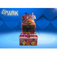 Kids Coin Operated Simulator Basketball Shooting Machine For 2 Player