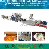 Stone Artificial Marble Making Machine For Wall Decoration Sheet Profile