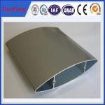 China Aluminium louver profile supplier, extruded industrial aluminium profile supplier wholesale