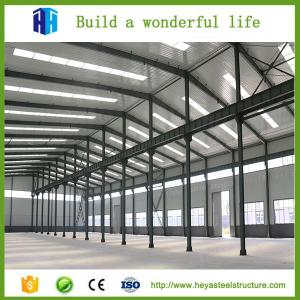 China Industrial factory sheds greenhouse steel structure auto parts warehouse on sale