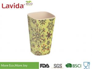 China Small Size Recycled Bamboo Fiber Tumbler Dishwasher Safe Phthalate / Formaldehyde Free on sale