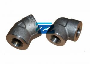China Alloy Steel Threaded Pipe Fittings ASTM A182 F22 2000LB Pressure JIS Standard on sale