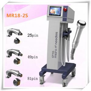 China High quality of Microneedles Fractional  RF Beauty equipment with cryo treatment handpiece for skin lifting on sale