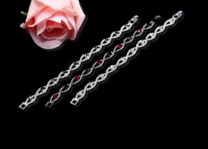 China 2012 Hot Selling Wedding Jewelry Crystal Rhinstone Bracelets For Party BLN0060 on sale