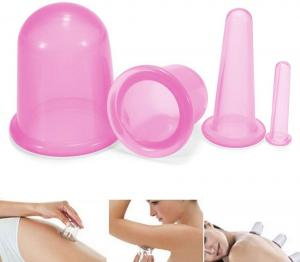 China Non Toxic Healthy Silicone Cupping , Silicone Suction Cups For Cellulite on sale