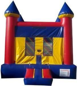 China Childrens birthday party inflatables bounce houses Combo Jumpers with Slide Rentals  on sale