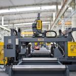 normal speed CNC beam drilling machine SWZ700, cheapest price