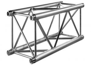 China 400x400mm Aluminium Square Truss , Steel Base And Aluminum Brace on sale