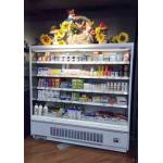 Built - in Compressor Mulitdeck Open Chiller for Beverage, Drinks And Fruits