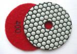 Almofadas de polonês secas flexíveis do granito shapr alto do tempo longo de 4 de 100mm