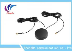 China 4G Auto GPS Antenna 28dbi Gain Two In One Daul Cable Car Screw For Car Navigator on sale