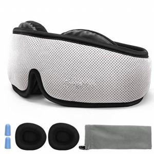 China 3D Breathable Contoured Sleep Mask / Nighttime Eye Mask Custom Logo Printed on sale