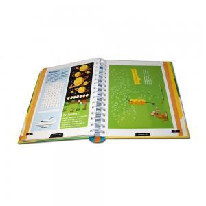 China Unique Hardcover Book Printing / Coil Bound Book Printing Offset Printing on sale