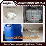 China Industrial Grade Glacial Acetic Acid 99.8% wholesale