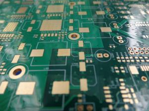 China Green BGA Circuit Board 12 Layer ITEQ FR 4 Via In Pad PCB Immersion Gold supplier