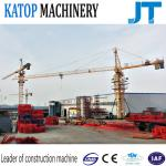 Tower crane 5t load QTZ63-TC5010 tower crane with low price for Africa
