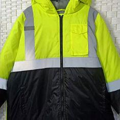 China Windproof Plus Size Reflective Apparel High Visibility For Outdoor Workers on sale
