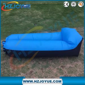 China New design!!!Fast Inflatable Air Bag Sofa Outdoor plastic folding sun inflatable air lounger with pillow on sale