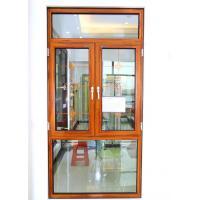 55 series thermal break casement  aluminum glass window custom windows